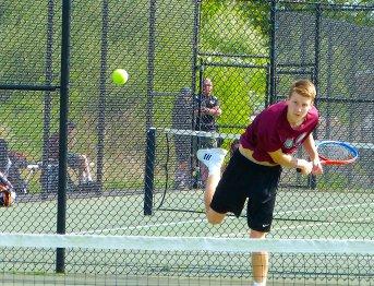 Torrington boys tennis - Brandon Cisowski 1