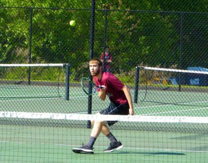 Torrington boys tennis - Kevin Dixon 1
