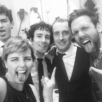 The Zoots, Zoots band, Wedding band Bristol, Jim & Jessie's wedding, Trinity Bristol Wedding, Band in South West, Wedding band South West, Band Selfie, Awesome wedding band, Bristol Band, Band for hire, Band in Bristol,