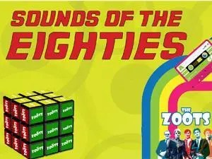 The Zoots 1980s show, 80s tribute show, Eighties tribute show by The Zoots