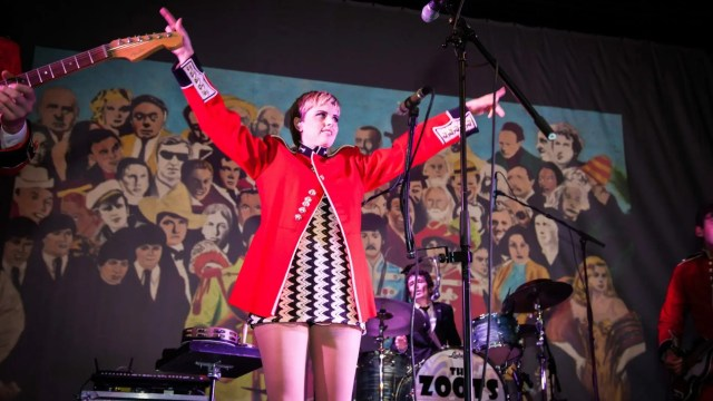 Harriet from The Zoots at Seaton Gateway, sounds of the 60s