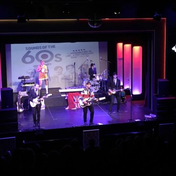 60s theatre show, The Zoots band, south West, UK band