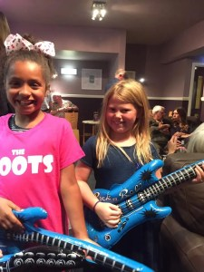 Levi and Chyna and Lula, Kids at The Zoots 60s show, can I bring kids to Zoots concert