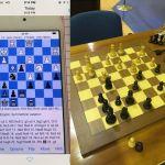 Trampas en ajedrez mediante código morse
