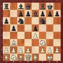 En esta posición solía ser frecuente jugar c3.