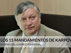 Anatoly Karpov consejos
