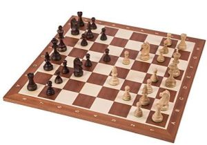 tablero de ajedrez fieltro