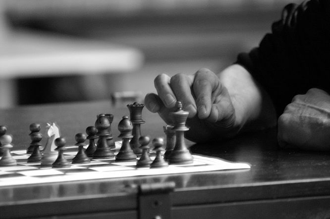 peones colgantes en diagrama de ajedrez en 2d