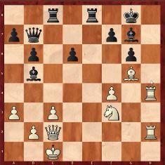 patrón de ataque en ajedrez con ataque al rey por la columna h