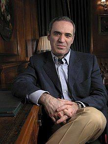 Gary Kasparov uno de los mejores jugadores de ataque