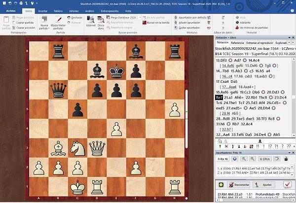 Programa de análisis de partidas de ajedrez