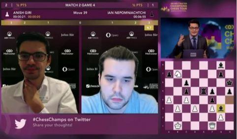 Magnus Carlsen Invitational. Final Anish y Ian.