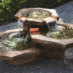 Stone Basins Fountain