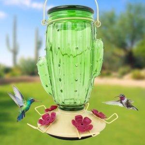 Cactus - Hummingbird Feeder