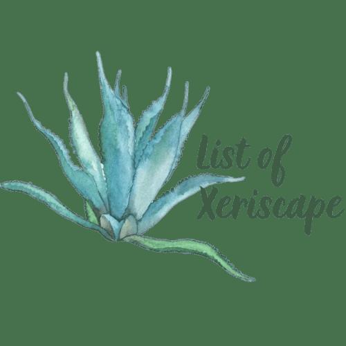 List of Xeriscape