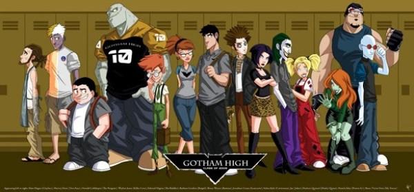 Teenage Super Heroes