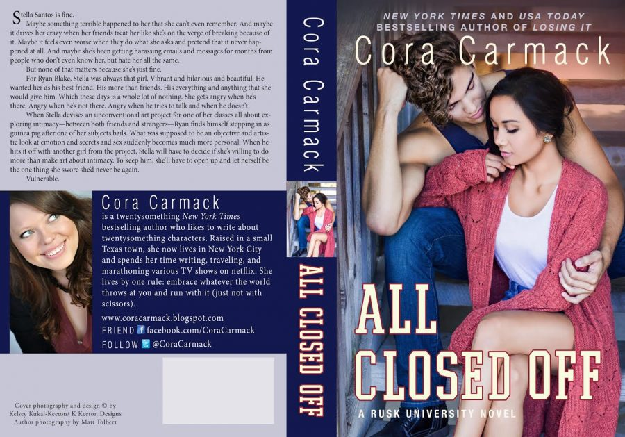 ALL CLOSED OFF (Rusk University #4) by Cora Carmack (Full Cover)