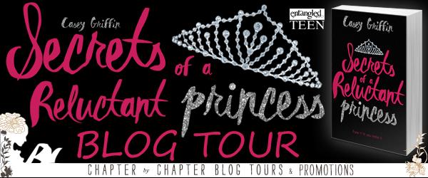 SECRETS OF A RELUCTANT PRINCESS Blog Tour
