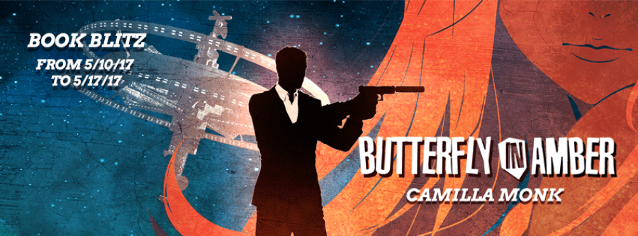 BUTTERFLY IN AMBER Book Blitz