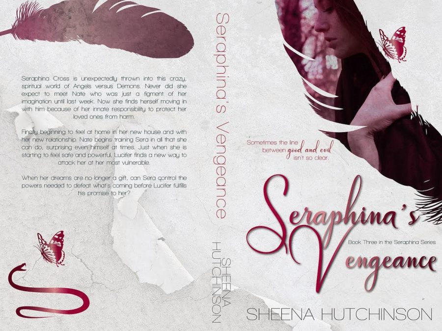 SERAPHINA'S VENGEANCE (Seraphina #3) by Sheena Hutchinson (Full Cover)