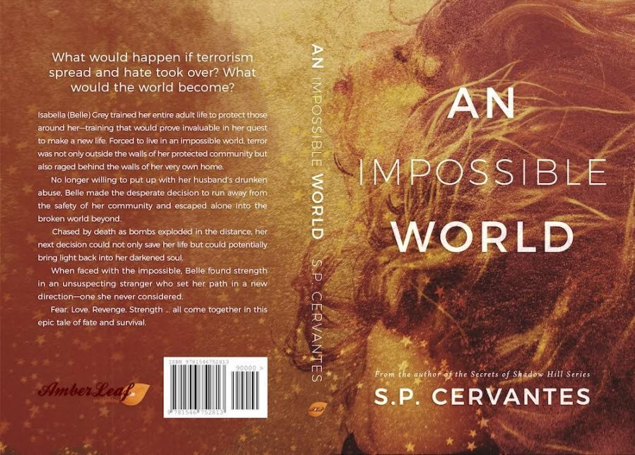 AN IMPOSSIBLE WORLD by S.P. Cervantes (Full Cover)
