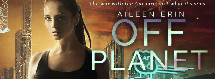 OFF PLANET Cover Reveal
