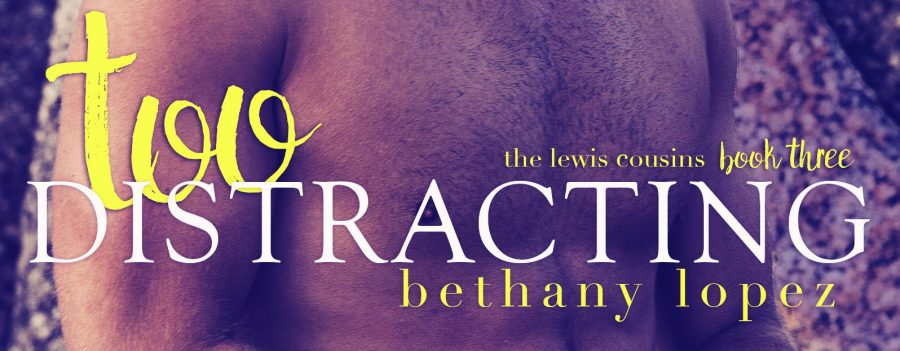 TOO DISTRACTING Cover Reveal
