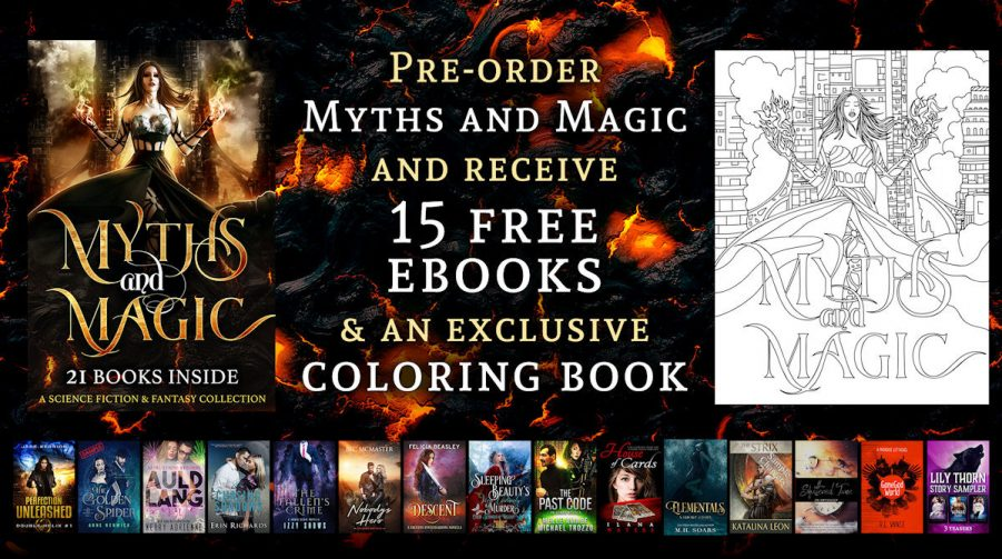 MYTHS AND MAGIC Pre-Order Giveaway