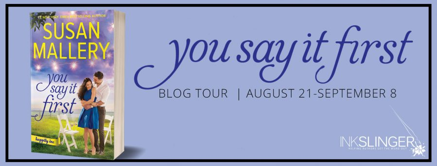YOU SAY IT FIRST Blog Tour