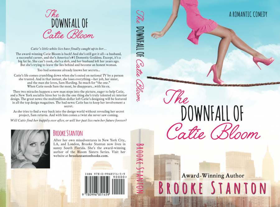 THE DOWNFALL OF CATIE BLOOM (Bloom Sisters #3) by Brooke Stanton (Full Cover)