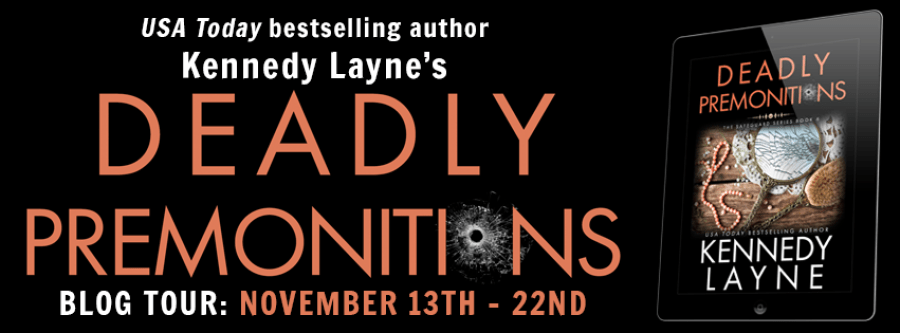 DEADLY PREMONITIONS Blog Tour