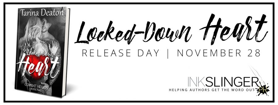 LOCKED-DOWN HEART Release Day