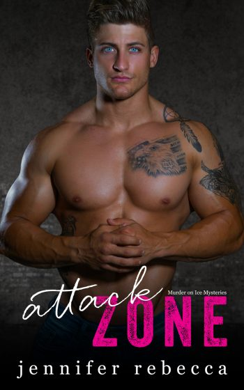 ATTACK ZONE (Murder on Ice Mysteries #1) by Jennifer Rebecca