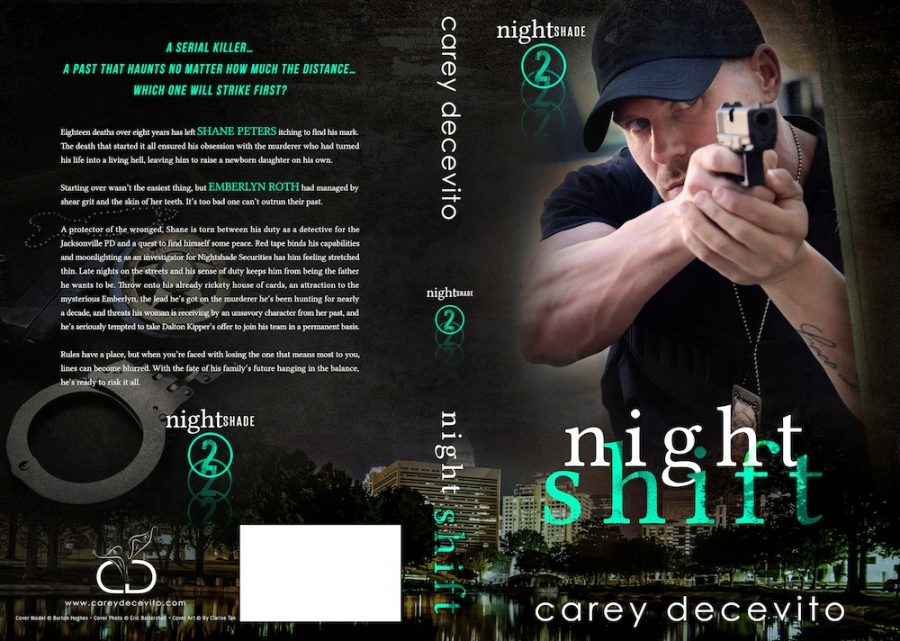 NIGHT SHIFT (Nightshade #2) by Carey Decevito (Full Cover)