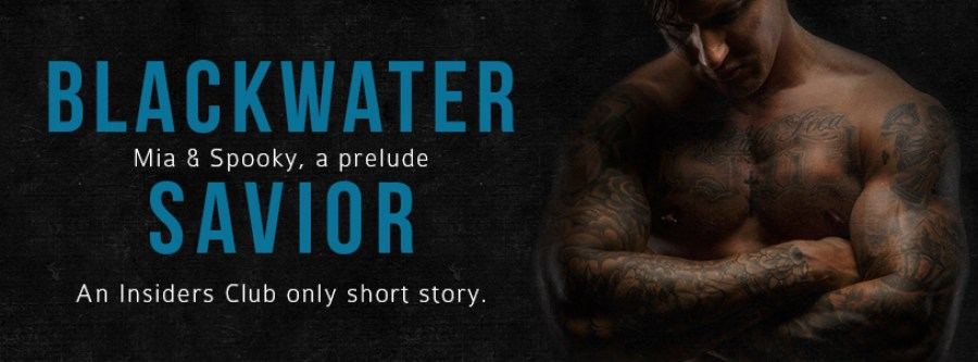BLACKWATER SAVIOR Cover Reveal