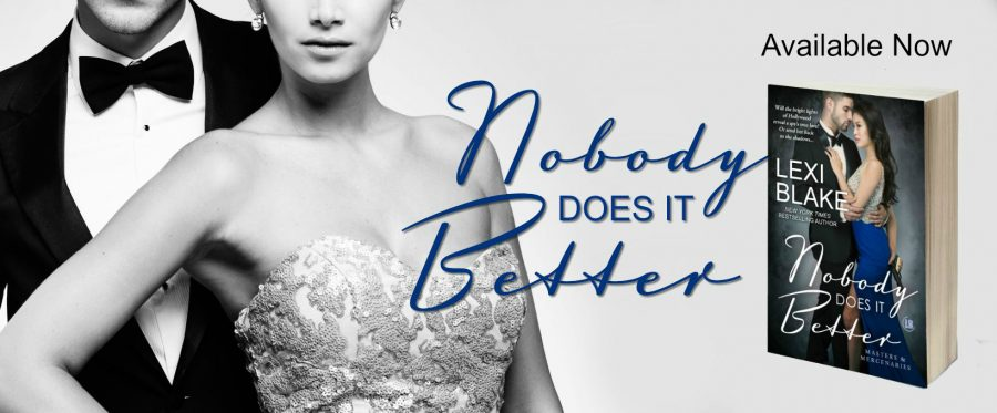 NOBODY DOES IT BETTER Release Day