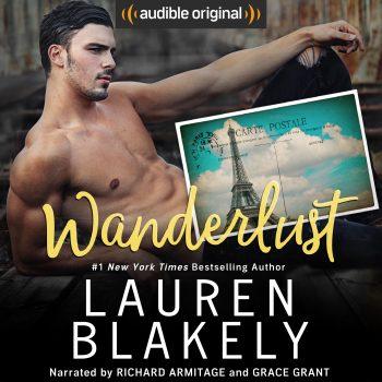 WANDERLUST by Lauren Blakely (Audiobook Cover)