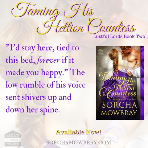 TAMING HIS HELLION COUNTESS Teaser 1