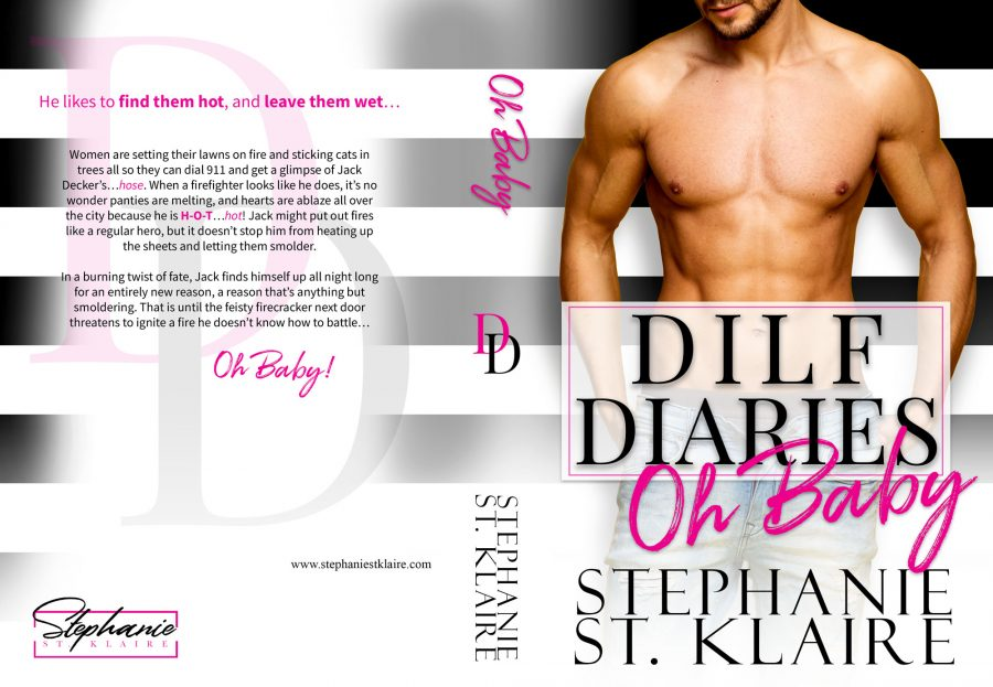 OH BABY (DILF Diaries #1) by Stephanie St. Klaire (Full Cover)
