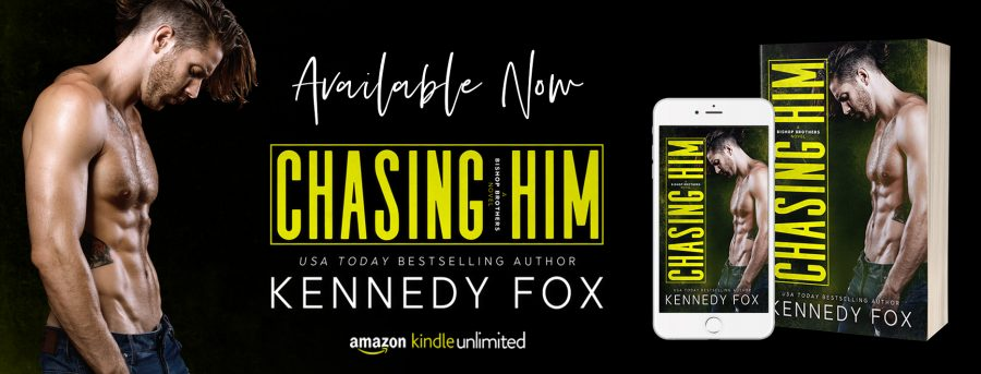 CHASING HIM Release Day
