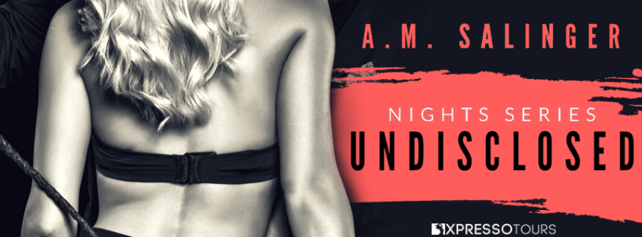 UNDISCLOSED Cover Reveal