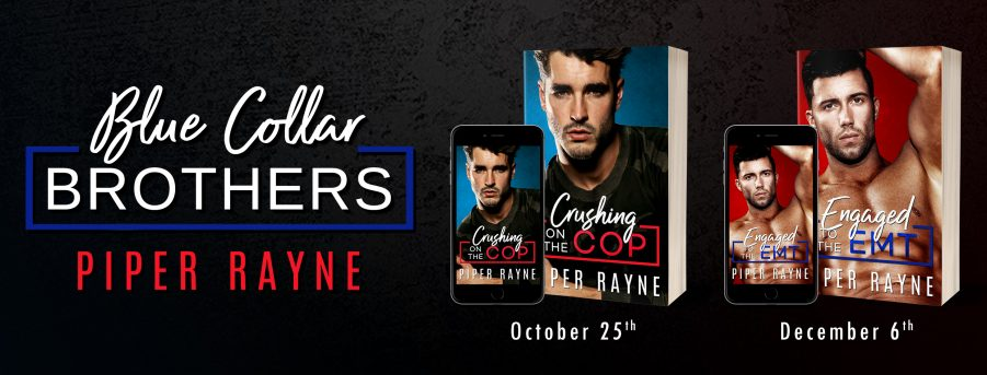 CRUSHING ON THE COP and ENGAGED TO THE EMT Cover Reveals