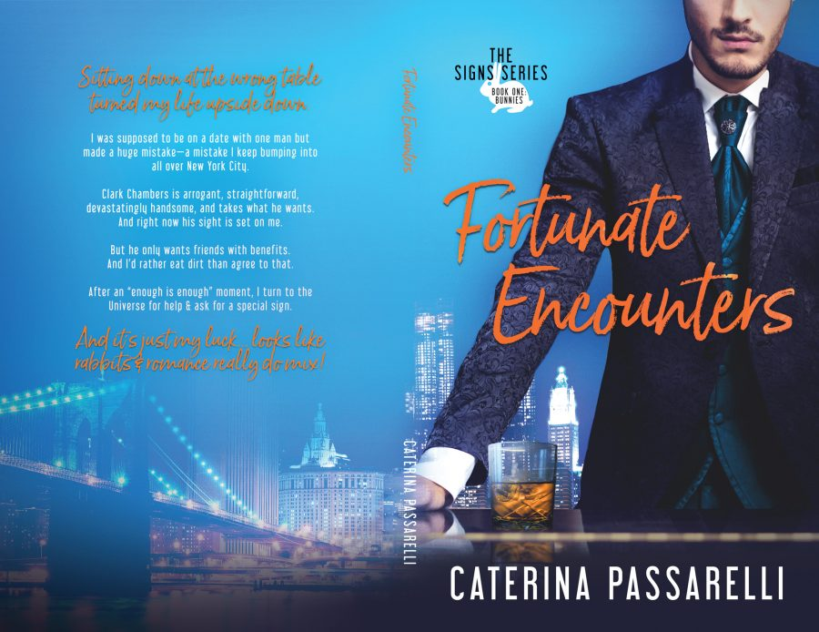 FORTUNATE ENCOUNTERS (The Signs Series #1) by Caterina Passarelli (Full Cover)