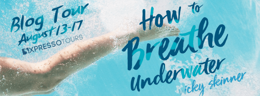 HOW TO BREATHE UNDERWATER Blog Tour