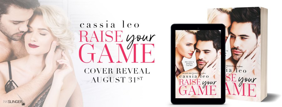 RAISE YOUR GAME Cover Reveal