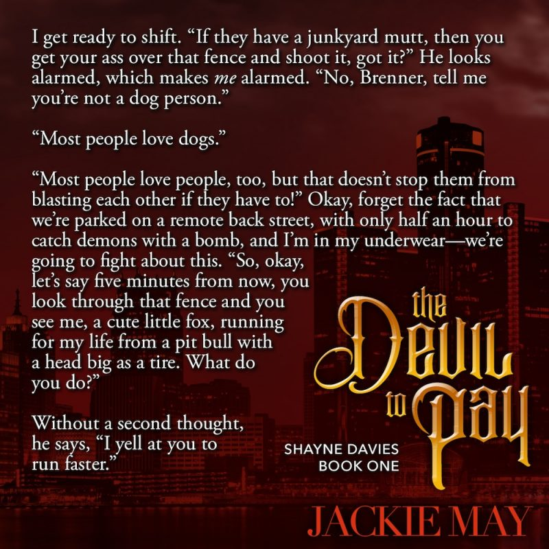 THE DEVIL TO PAY Teaser 1