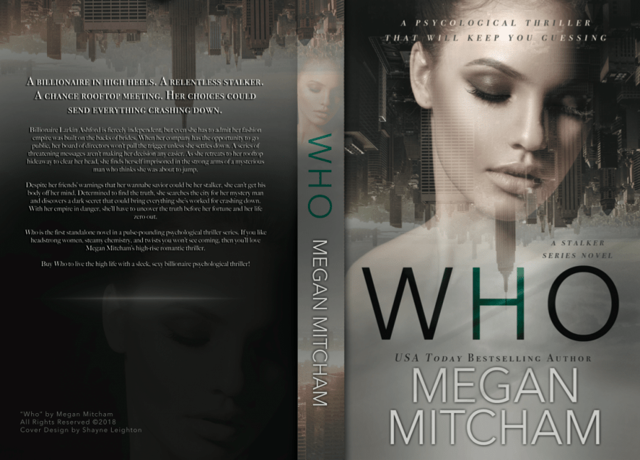 WHO (Stalker #1) by Megan Mitcham (Full Cover)