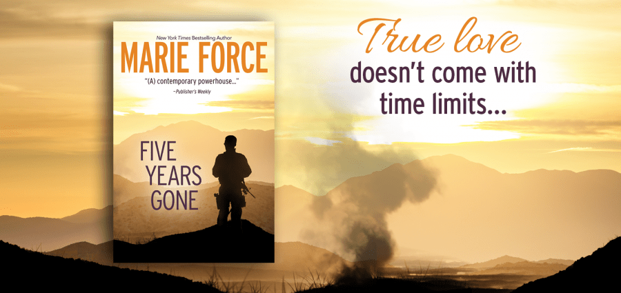 FIVE YEARS GONE Release Day