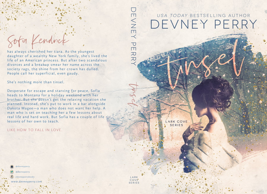 TINSEL (Lark Cove #4) by Devney Perry (Full Cover)