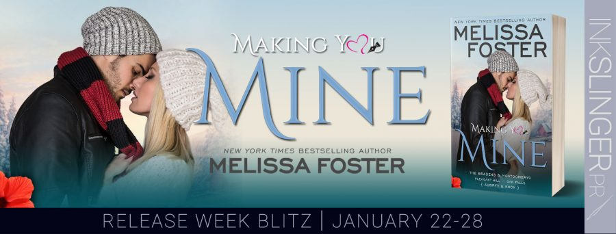 MAKING YOU MINE Release Blitz